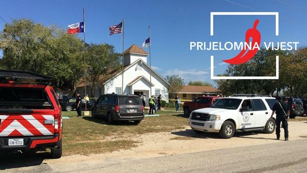 Masovna pucnjava u crkvi u Teksasu, najmanje 27 mrtvih