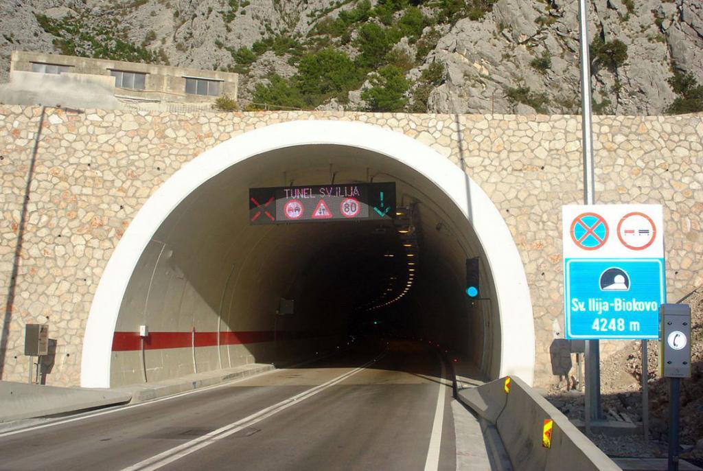 Od Nove godine se ukida naplata tunelarine za tunel Sveti Ilija