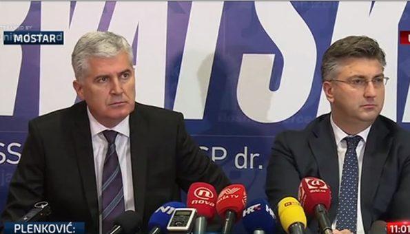 ČOVIĆ-PLENKOVIĆ: Zbiti redove kako bi Hrvati opstali i izborili se za ravnopravnost