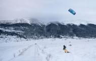 Surfanje po snijegu ispod Vran planine