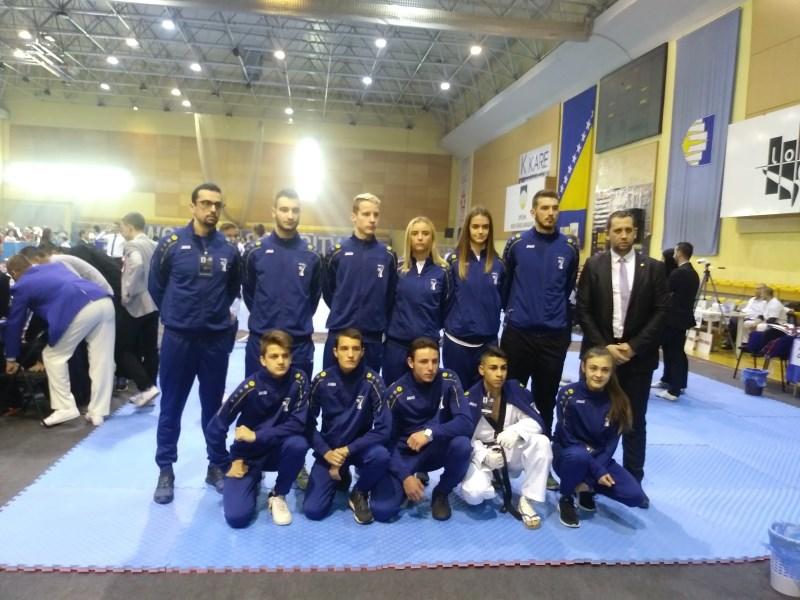 "Sarajevo open 2017: Pet medalja za ""poskoke"""