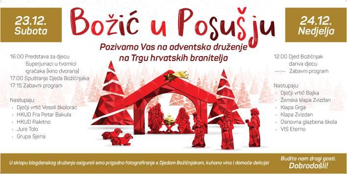 """""""Božić u Posušju"""" – Veliko adventsko druženje"""