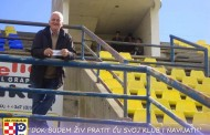 POSUŠKI NAVIJAČI: Kovač pola stoljeća na tribinama stadiona uz svoje nogometaše