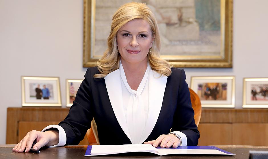Grabar-Kitarović: Šestorici Hrvata neću oduzeti odlikovanja