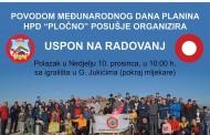 Dan planina HPD Pločno obilježava usponom na Radovanj