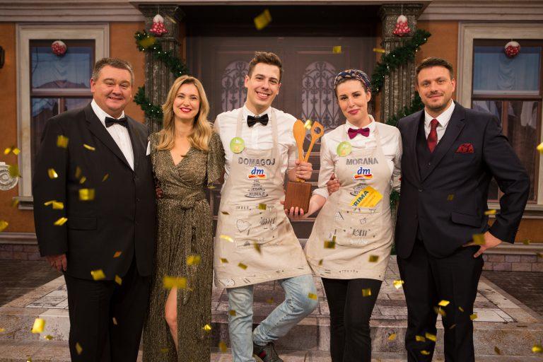 """Morana i Domagoj najbolji su kuhari-amateri 5. sezone showa """"Tri, dva, jedan – kuhaj!""""!"""