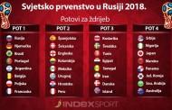 Danas izvlačenje skupina za Svjetsko prvenstvo u Rusiji 2018.