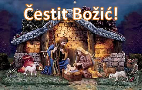 Božićna čestitka OO HDZ BIH Posušje