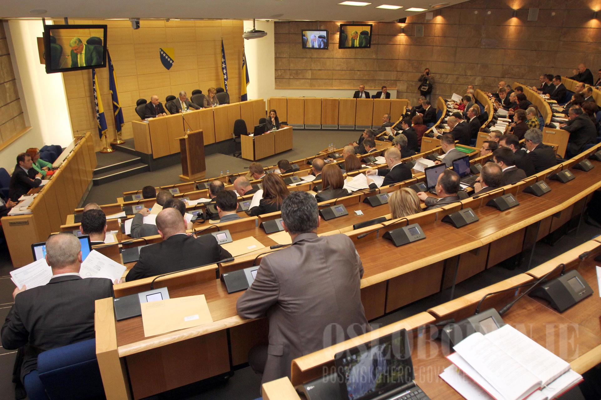 Nacrt zakona o MIO-u prihvaćen i u Domu naroda Parlamenta FBiH