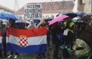 Održan prosvjed hrvatskih studenata u Zagrebu