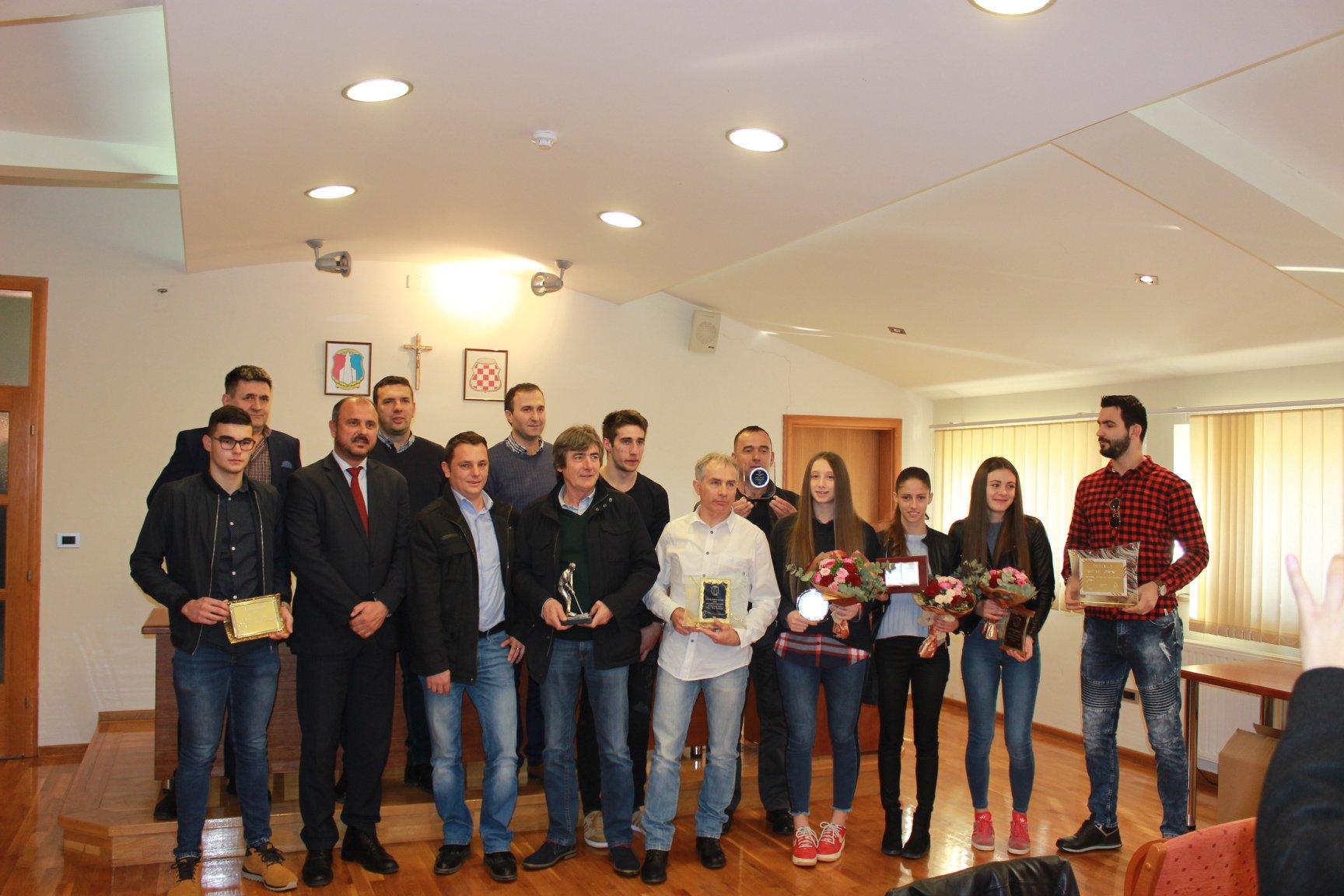 Najbolji sportaši općine Posušje su Mihaela Senjak i Kristian Miličević