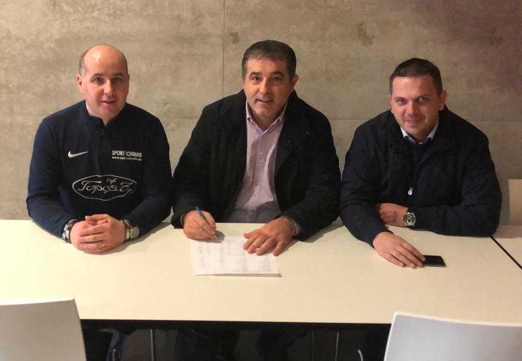 Zoran Primorac - organizator, Ivan Soldo-predsjednik udruge fra Mladen Hrkać i Ivan Zeljko - predsjednik Lige Hercegovine
