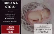 NAJAVA: Tabu na stolu – druga tema ciklusa: Kontracepcija i abortus