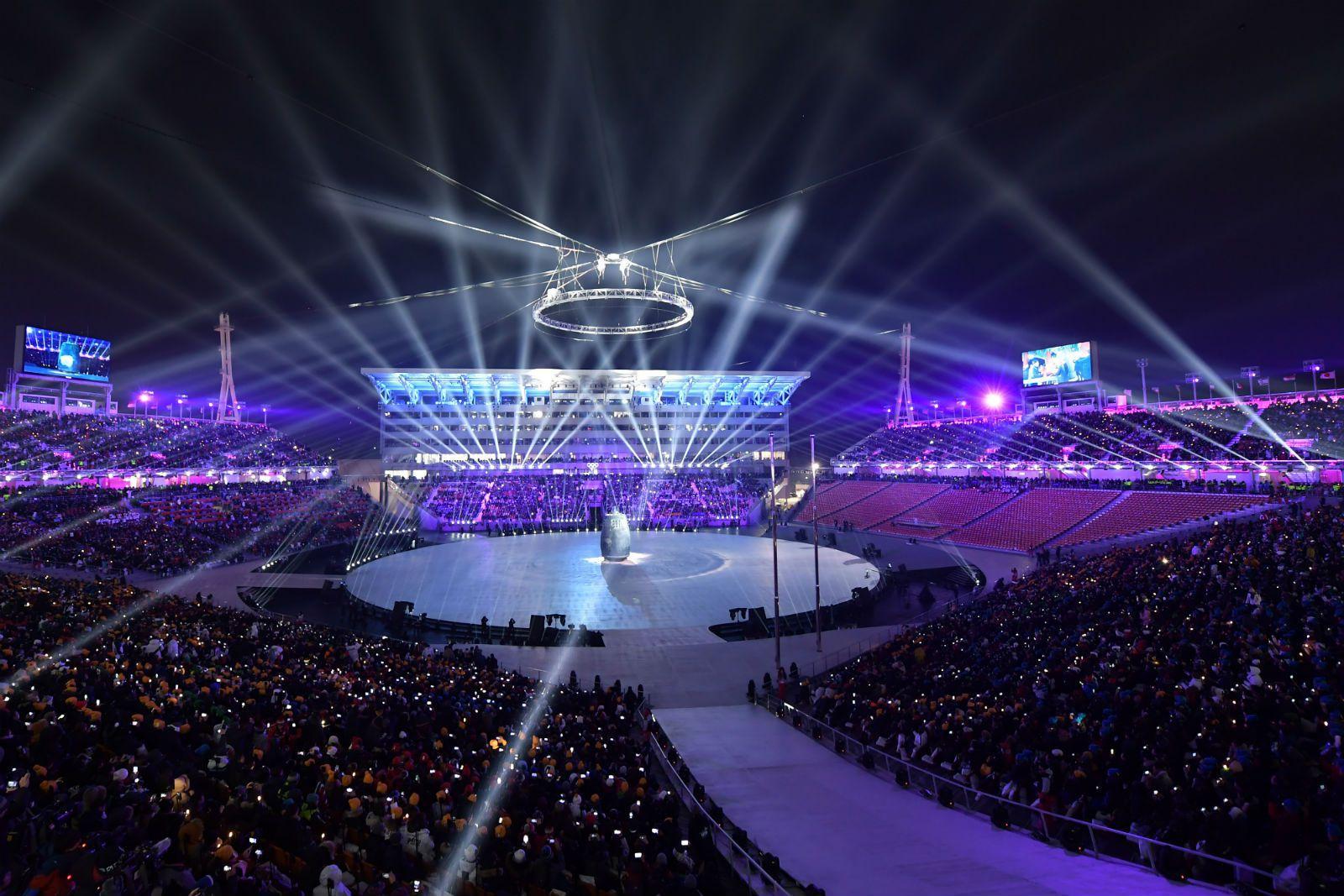 PJONGČANG: Otvorene Zimske olimpijske igre