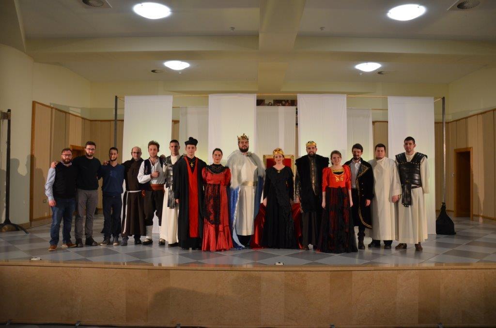 """Postavljena predstava """"Kraljica Bosne"""""""