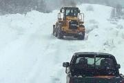 Na regionalnom putu Rakitno-Blidinje obustavljen promet zbog zaleđene ceste