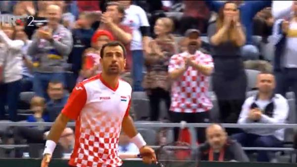 VELIKI PREOKRET HRVATSKE: Čilić i Dodig donijeli prednost u Davis cupu