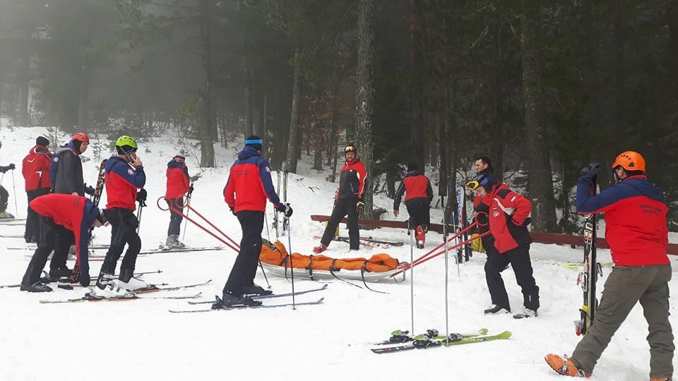 Na skijalištu održana obuka u spašavanju s akijom-amcem za spašavanje
