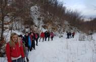 Prvi izlet polaznika planinarske škole