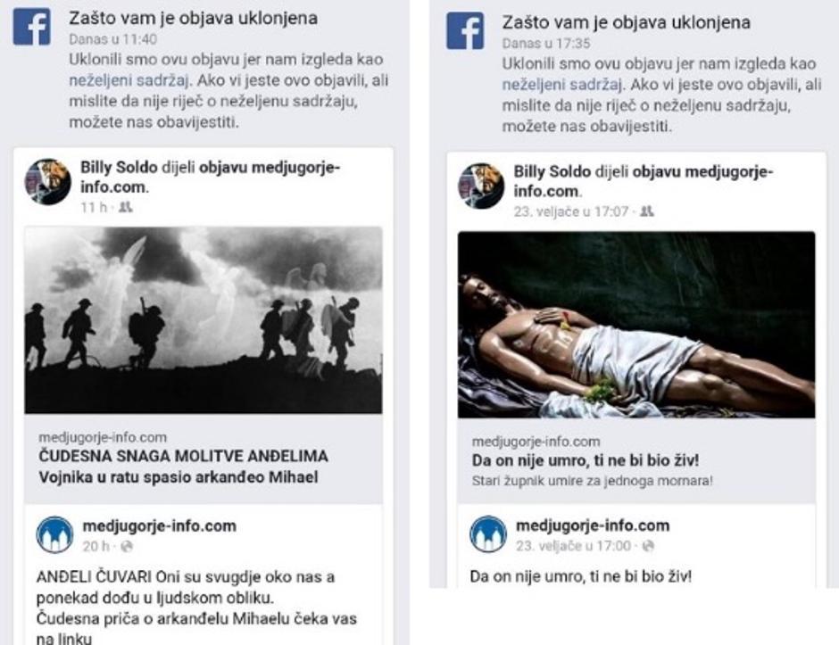 Skandalozan je razlog zbog kojeg je Facebook ukinuo Medjugorje.info, evo što im je zasmetalo