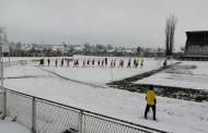 NOVA NOGOMETNA LAKRDIJA: Čapljina u snježnim uvjetima slavila u Bihaću