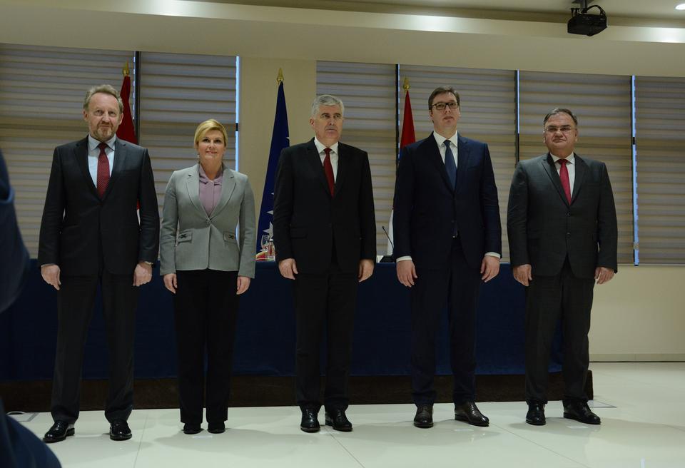 Čelnici Hrvatske, Srbije i BiH pozvali na rješavanje otvorenih pitanja