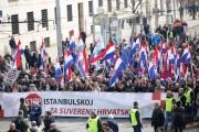 Više od 50 000 ljudi na prosvjedu protiv Istanbulske konvencije