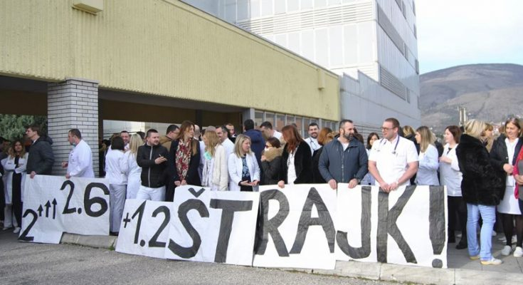 Liječnici prijete štrajkom, za ispunjenje uvjeta potrebno 50 milijuna KM