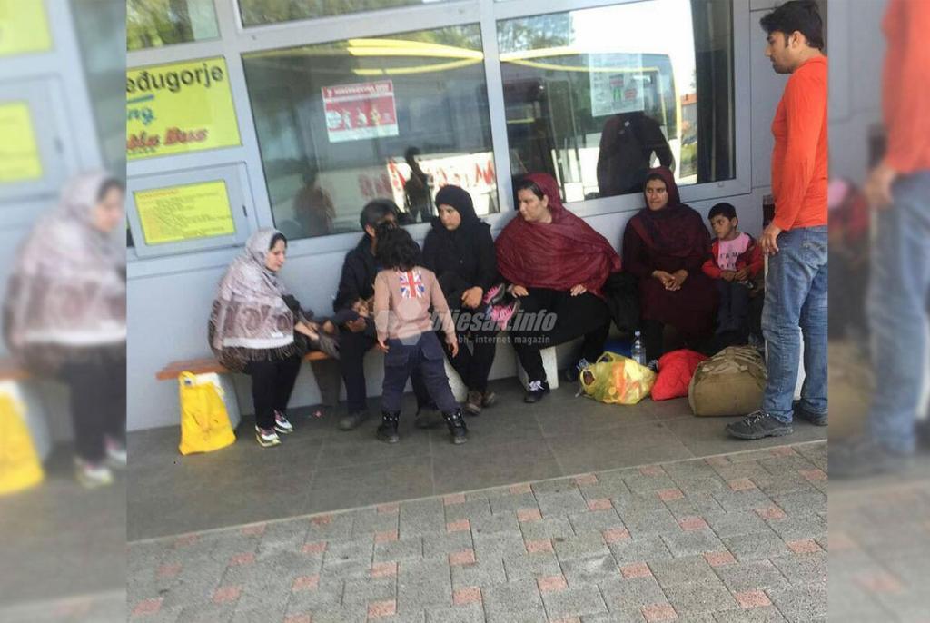 Sve više migranata na području Hercegovine