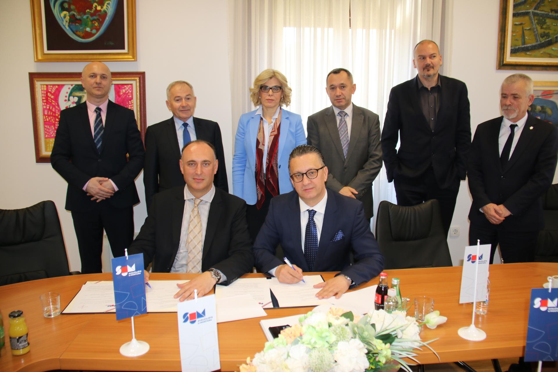 Potpisan sporazum između Sveučilišta u Mostaru i Sveučilišta Sjever
