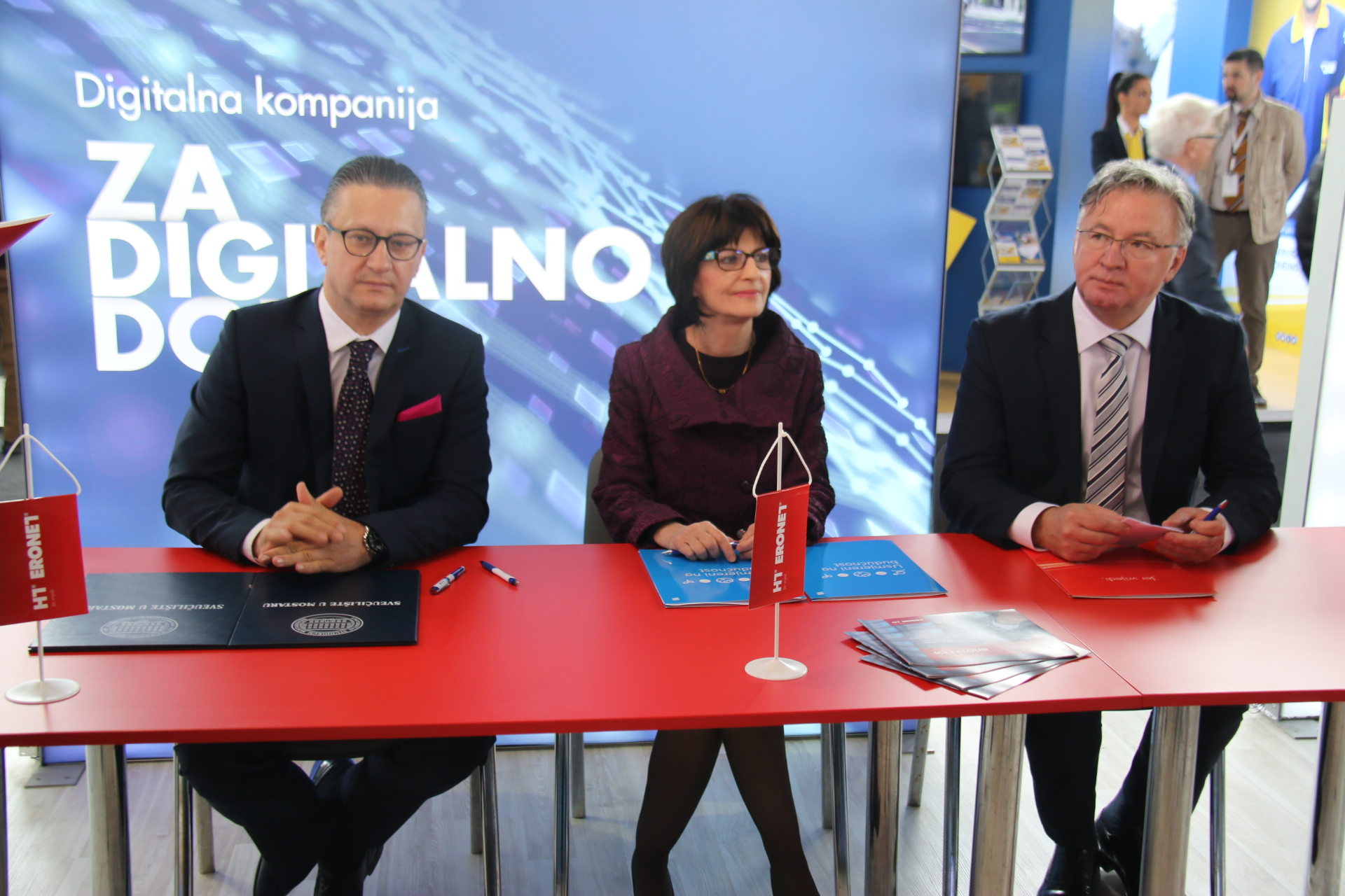 Potpisan sporazuma vodstva SUM-a, Ericssona Nikole Tesle i HT-a Mostara