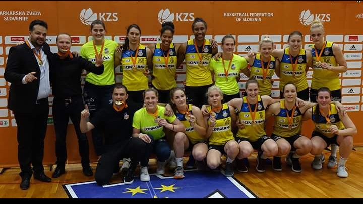 Andrea Marić s Celjem do 14. naslova državnih prvakinja