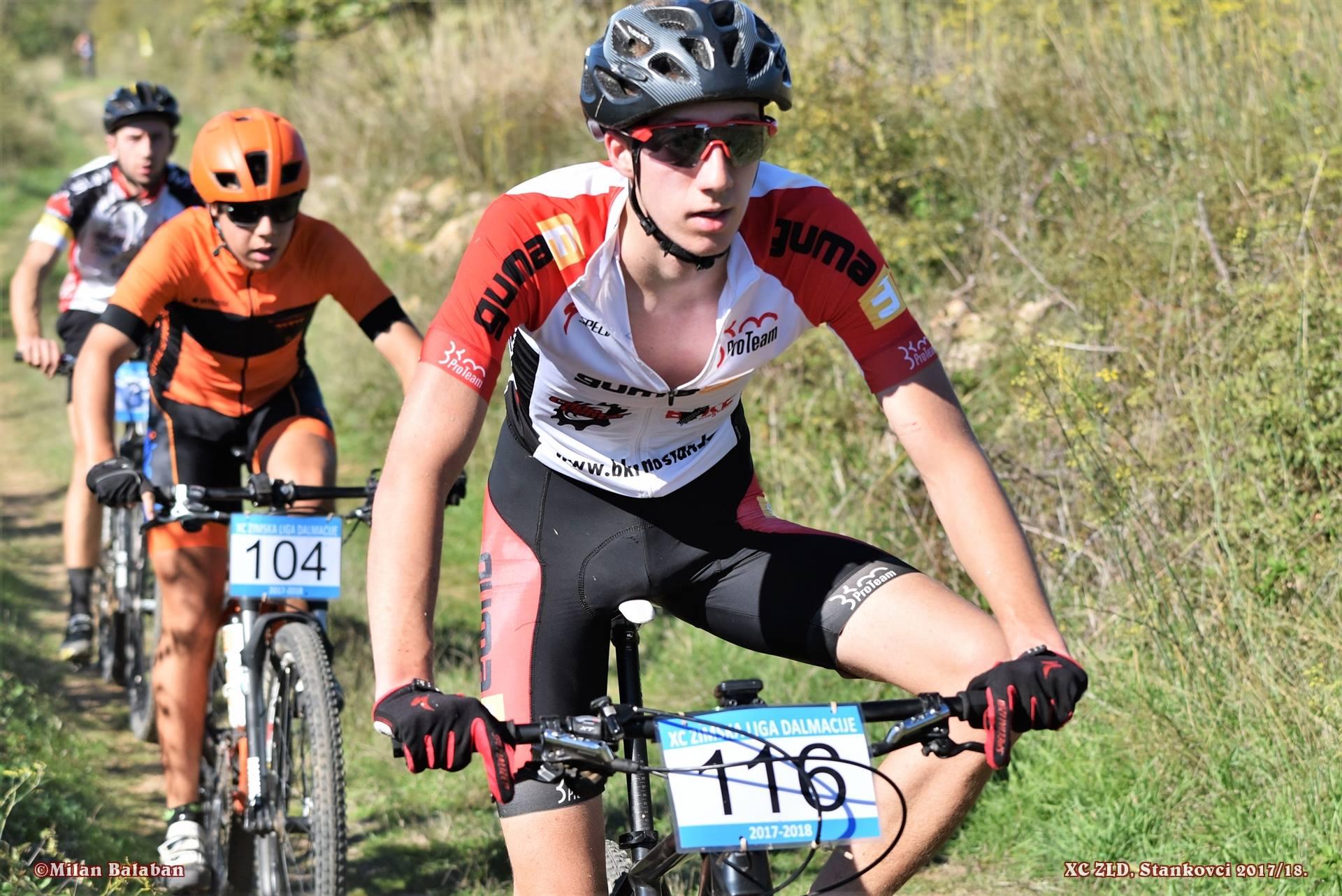 Luka Vila osvojio treće mjesto na biciklističkoj utrci u Žepču