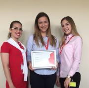 Iva Ćuk pobjednica Female Engineers MOL programme 2018.