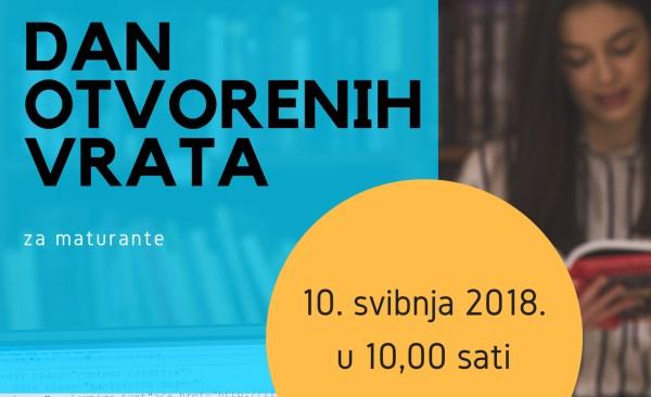Dan otvorenih vrata Studija informacijskih znanosti i studentska konferencija InfoDASKA