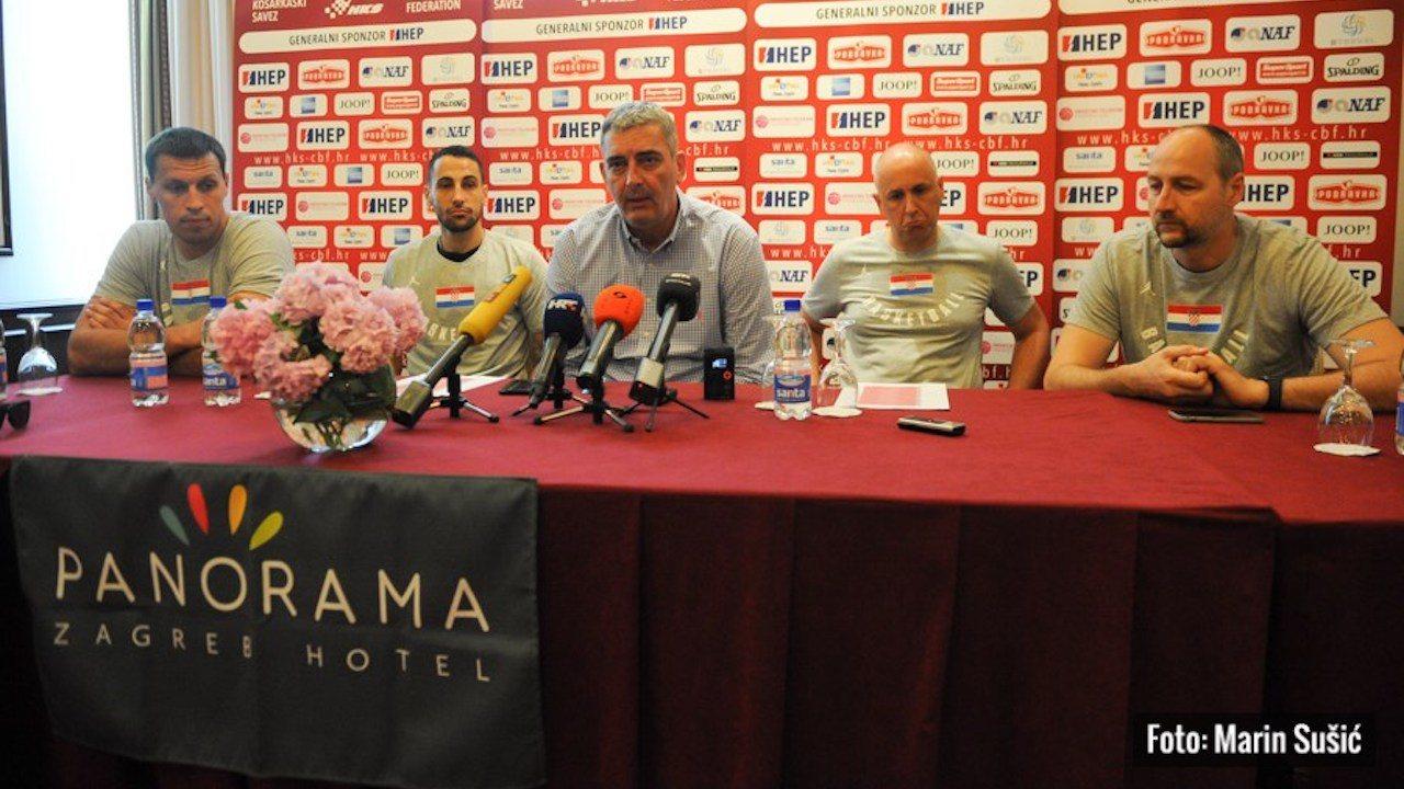 Ivan Ramljak na pripremama košarkaške reprezentacije za kvalifikacijske utakmice za SP