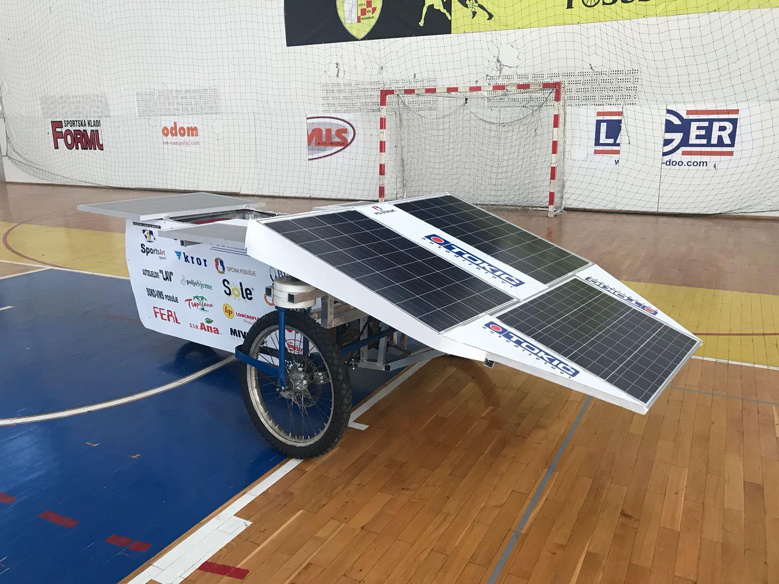 Učenici SSŠ Posušje na 6. utrci solarnih automobila u Sisku