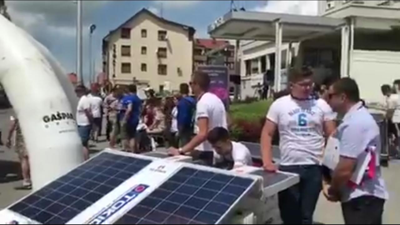 SISAK: Posuški strukovnjaci uspješno predstavili svoj solarni automobil
