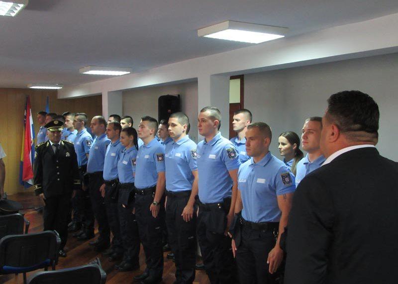Svečano prisegnulo 25 novih policijskih službenika MUP-a ZHŽ-a