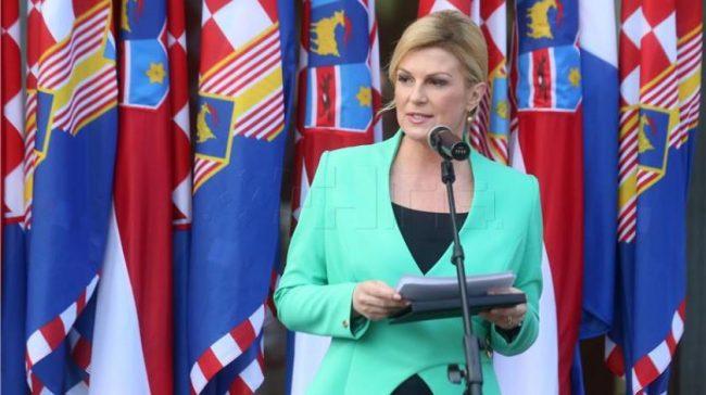 Grabar Kitarović: Hrvatski narod u BiH bori se za svoju ravnopravnost i treba mu pomoć