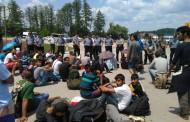 Gotovo 100 migranata zaustavljeno pred Hrvatskom, granica blokirana