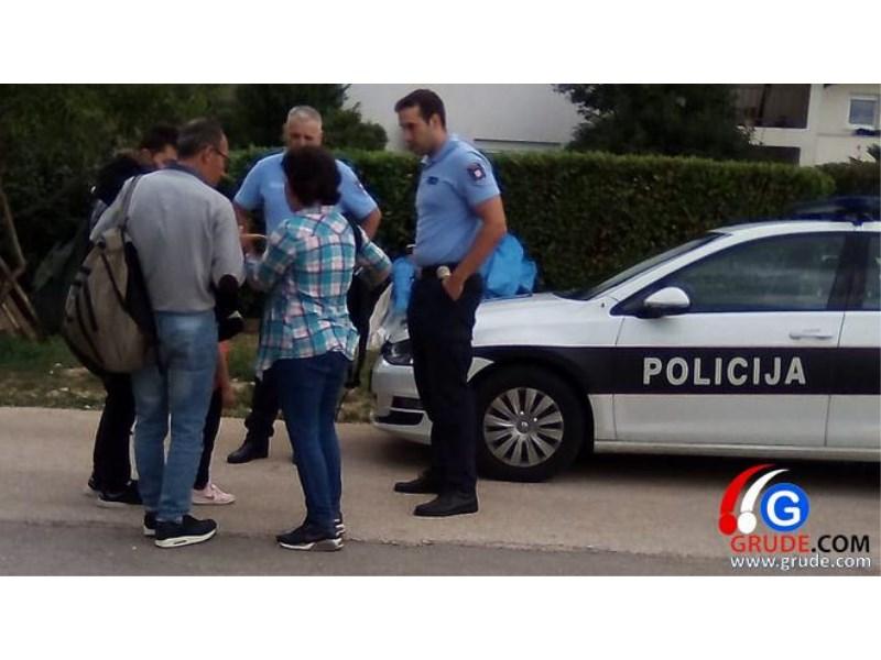 POLICIJA INTERVENIRALA: Migranti došli u Grude