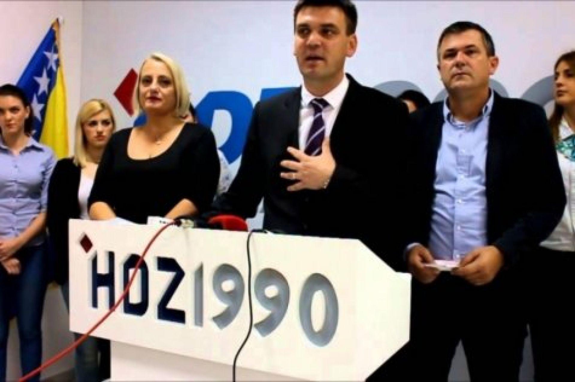HDZ 1990 PUCA PO ŠAVOVIMA: Raspušten jedan od najjačih ogranaka 'Devedesetke'