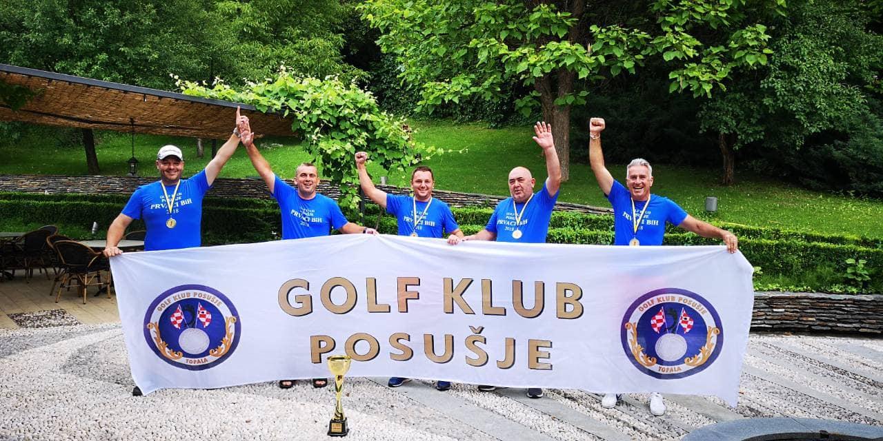 Posuški golferi obranili naslov prvaka BiH