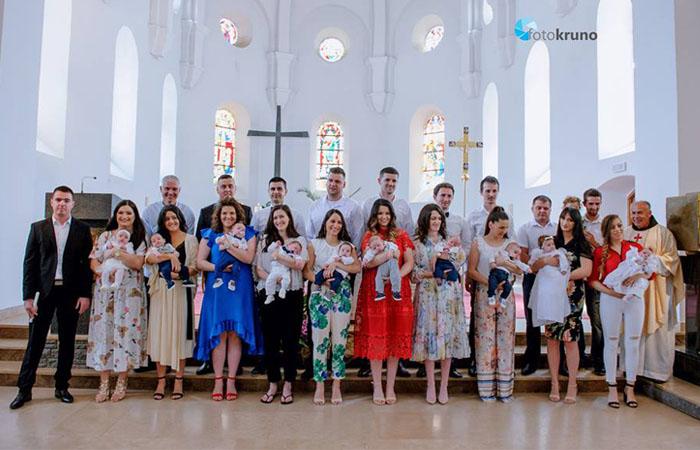 Široki Brijeg: U crkvi Uznesenja Blažene Djevice Marije kršteno 10 beba