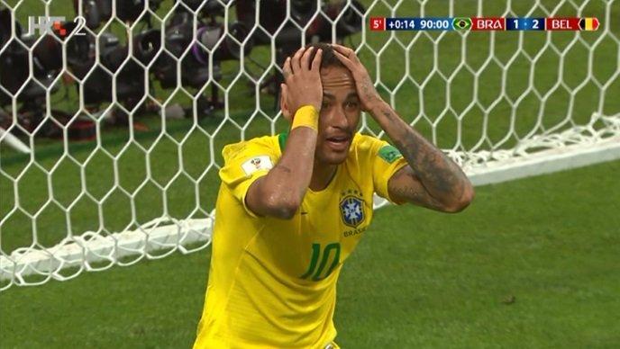 Brazil igrao, Belgija zabijala i ušla u polufinale