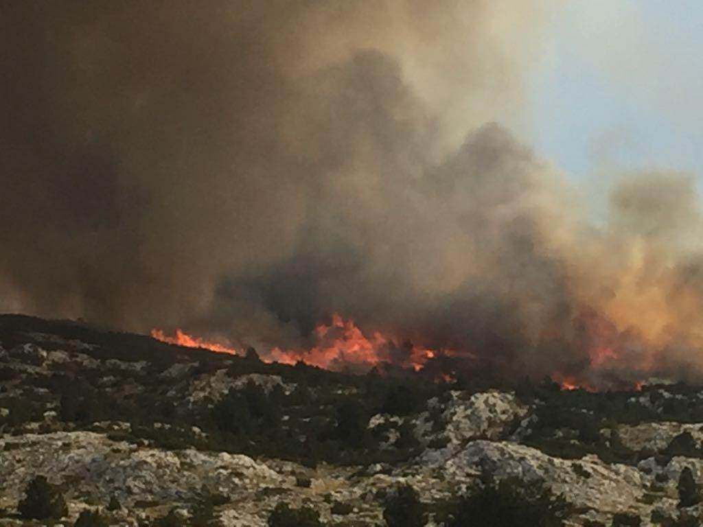 Četiri požara na području ŽZH: Gorjelo u Grudama, Posušju i Ljubuškom