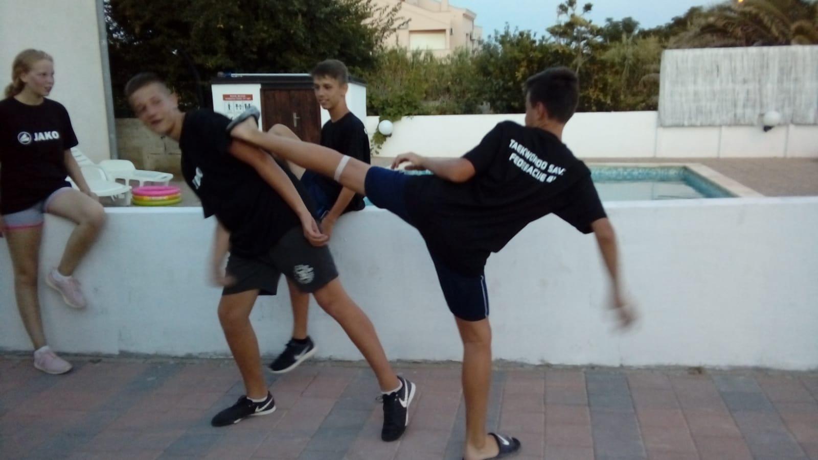 Ljetni taekwondo kamp