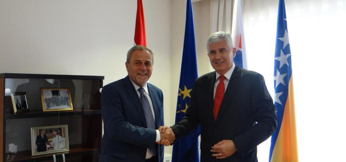 Bandić iskazao potporu Draganu Čoviću