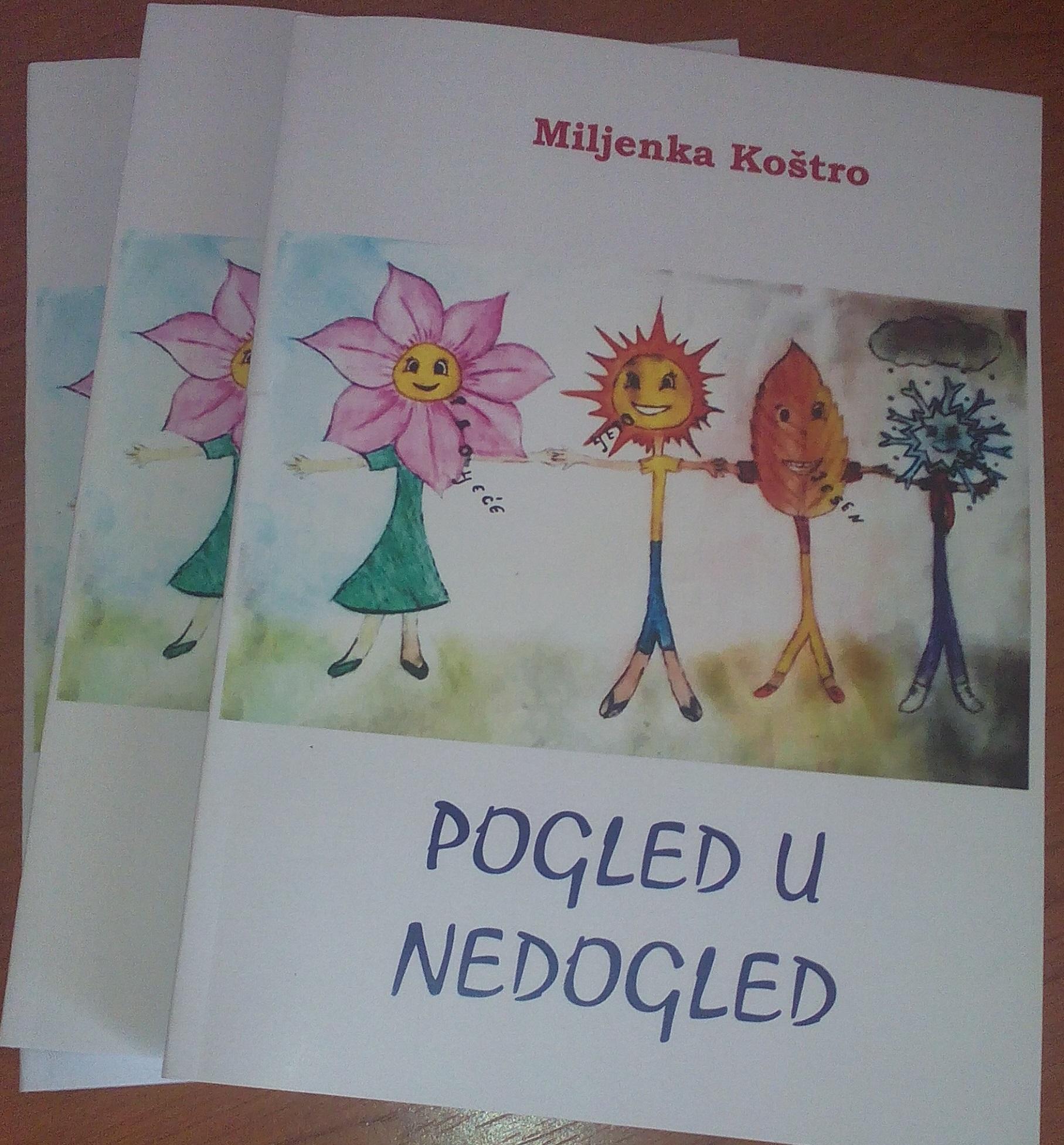 """Predstavljanje knjige """"Pogled u nedogled"""" Miljenke Koštro i izložba slika Branka Širića"""